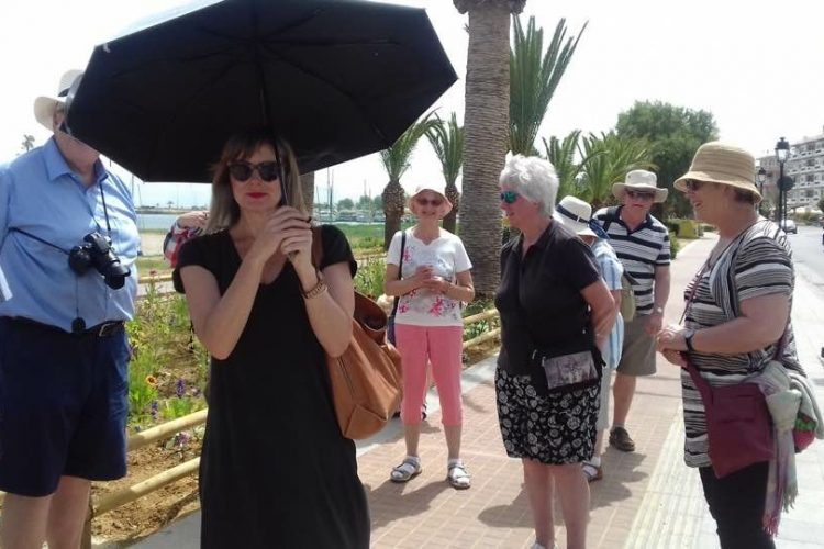 Joanna Kalypso Glyptis licened tour guide